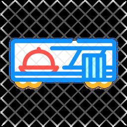 Train Restaurant Icon