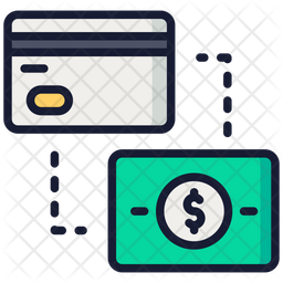 Transaction Colored Outline Icon