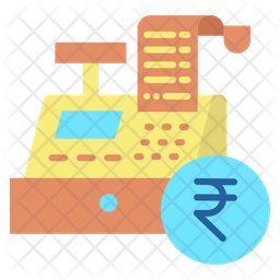 Transaction Invoice Rupees Icon