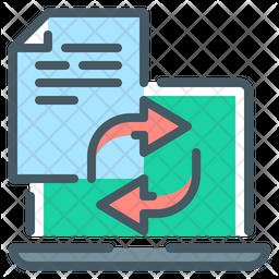 Transfer File Icon