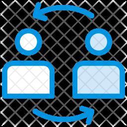 Transfer user Icon