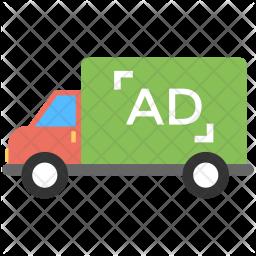 Transit Advertising Icon
