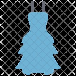 Trapeze dress Icon
