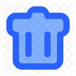 Trash Icon Of Colored Outline Style Available In Svg Png Eps Ai Icon Fonts