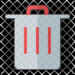 Trash Flat Icon