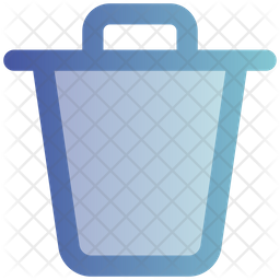 Trash Icon Of Gradient Style Available In Svg Png Eps Ai Icon Fonts