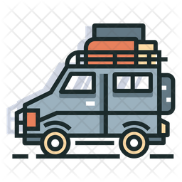 Travel Colored Outline Icon