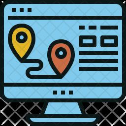 Travel location Icon