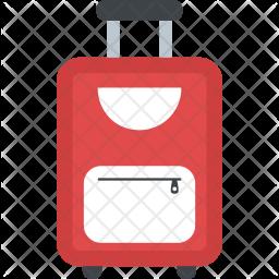 Travelling Bag Flat Icon