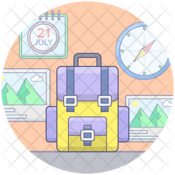 Travelling Gadgets Icon