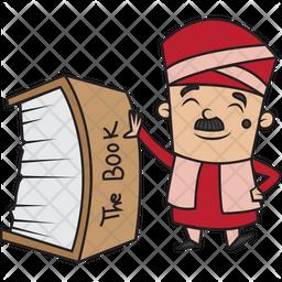 Treasure Book Sticker Icon