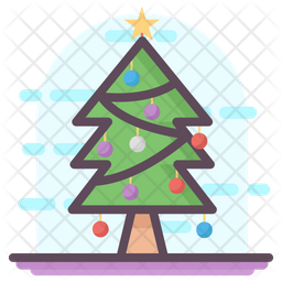 Tree Decoration Icon