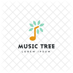 Tree Logo Colored Outline Icon