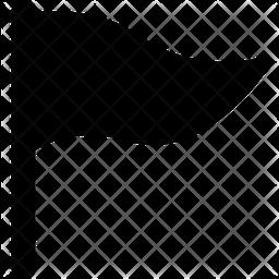 Triangle Flag Icon