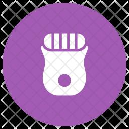 Trimmer Glyph Icon