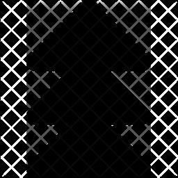 Triple Up Arrow Icon