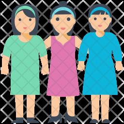 Triplet Icon