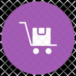 Trolley Glyph Icon