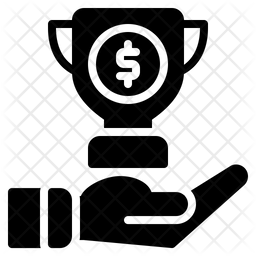 Trophy Glyph Icon