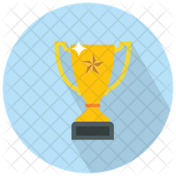 Trophy With A Star Icon