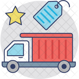Truck Tag Icon