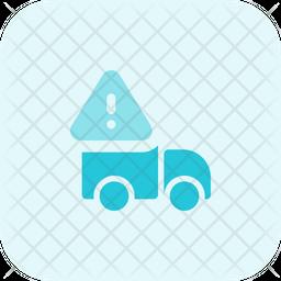 Truck Warning Icon