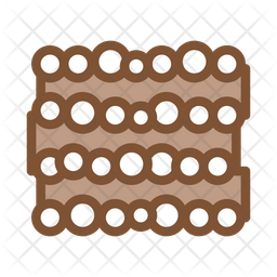Logging Trunk Colored Outline Icon