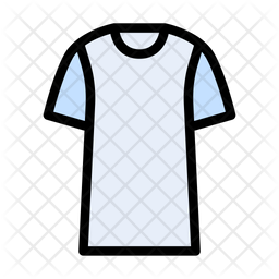 Tshirt Colored Outline Icon