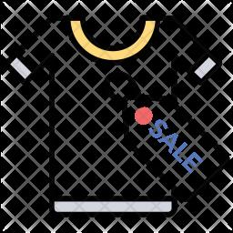 Tshirt on sale Icon