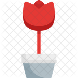Tulip Flat Icon