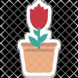 Tulip Bud Icon