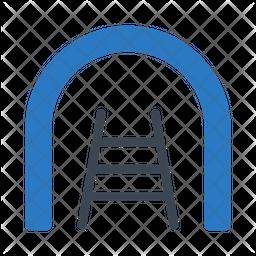 Tunnel Flat Icon