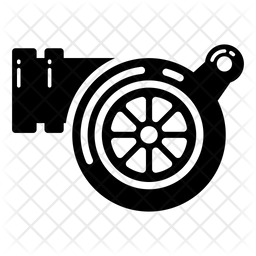 Turbo Glyph Icon