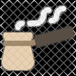 Turkish coffee pot Icon