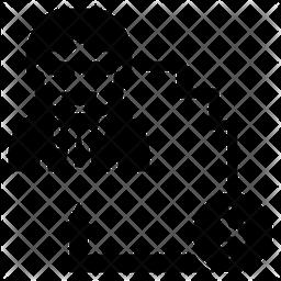 Turnover Glyph Icon