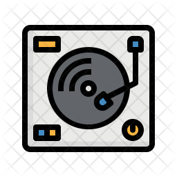 Turntable Dj Icon