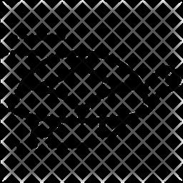 Turtle Line Icon