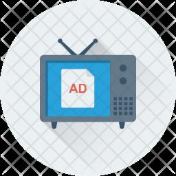 TV ad Icon