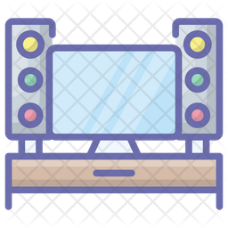 Tv Cabinet Icon