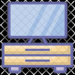 Tv Console Icon