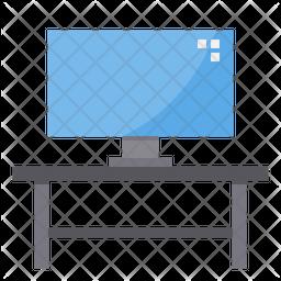 TV Table Icon