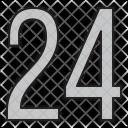 Twenty Four Icon