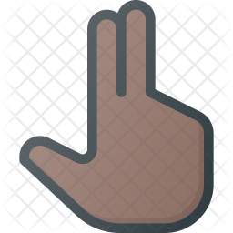 Two Colored Outline Icon