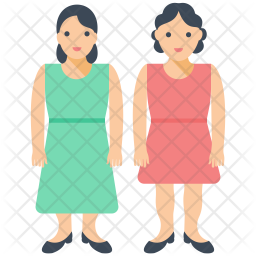 Two Females Icon