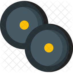 Two, Weightlifting, Tools Icon