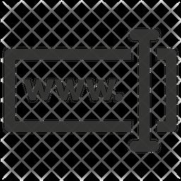 Type Web Address Icon