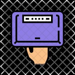 Ultra Violet Manicure Icon