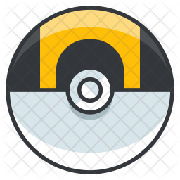 Ultraball Colored Outline Icon