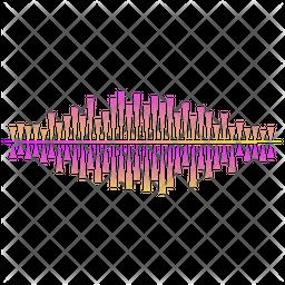 Ultrasonic Waves Icon