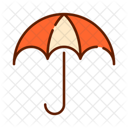 Umbrella Icon Of Colored Outline Style Available In Svg Png Eps Ai Icon Fonts